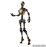 Robot png stock 1 by Direwrath
