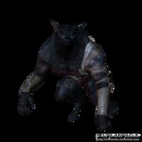 Big Bad Wolf Png Stock by Direwrath