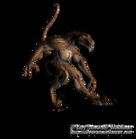 Lizardman Png Stock 1 by Direwrath