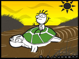 Gus3 Turtleback Riding by luckettx