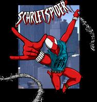 Scarlet Spider by luckettx