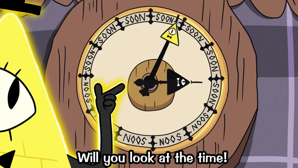Bill Cipher Soon O' Clock by luckettx