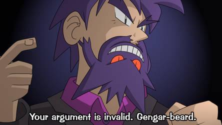 Professor Gengarbeard by luckettx