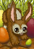 Easter Rabbit by hamstertoybox