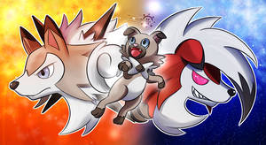 Lycanroc by Ac-Solanis