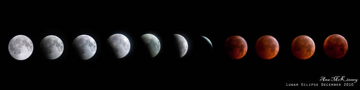 Lunar Eclipse 2010 by Annushkka