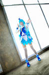 Pretty Cure Blue Forte Wave by hoshikohikari