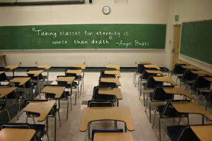 Classroom by hoshikohikari