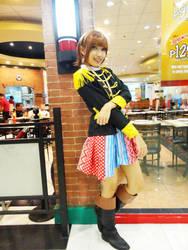 Mariko Shinoda AKB48 Heavy Rotation Pose 1 by hoshikohikari