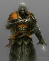 Assassin's Creed-Ishak Pasha by Nzio-deviantART