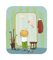 The Bird - the mirror by Z-Oras
