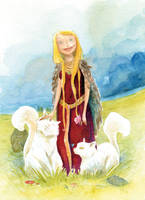 Freyja by Z-Oras