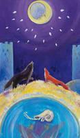 XVIII The Moon by Z-Oras