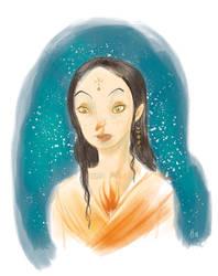 Hekate Priestress by Z-Oras