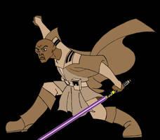 Clone Wars Mace Windu by nit-blazer