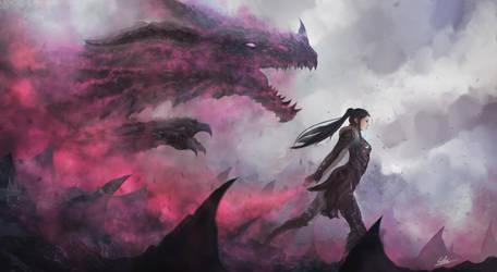 Summon thy dragon by CGlas