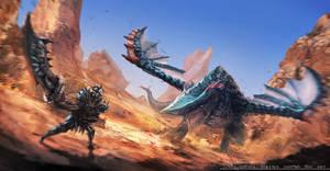 Monster Hunter Fanart 1 by CGlas