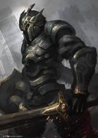 Bronze Crusader by CGlas