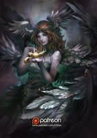 Angel's stone by CGlas