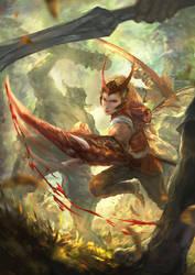Kael-The Swift Striker by CGlas