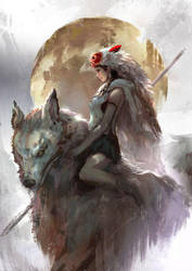 Princess Mononoke by CGlas
