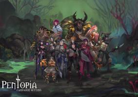 Pentopia RPG- 12 classes by CGlas