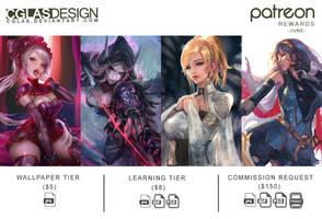 Patreon June Rewards by CGlas