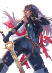 Fire Emblem -Lucina by CGlas