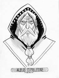 Dumbledore Inkwash by ryancody