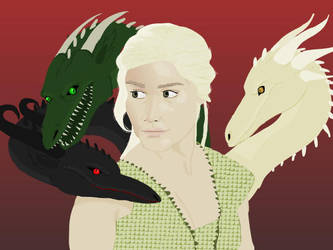 Mother of dragons by frauke123321666
