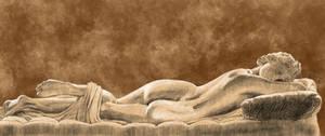 Borghese Hermaphroditus by Coyau