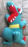 Totodile Pokemon Pillow -Product- by AztecTemplar
