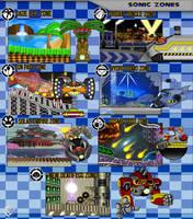 S Beyond_Sonic zones-eggman by XAMOEL