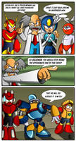 Robot Masters Quickie by XAMOEL