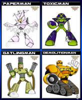 Megaman FAN Robot masters_2 by XAMOEL