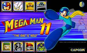Megaman 11 poster. by XAMOEL