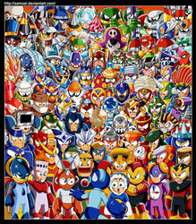 Robot Masters Rampage by XAMOEL