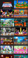 SONIC and SEGA ALL STAR WARZONE by XAMOEL