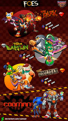 SONIC HEROES AND FOES _ THE FOES by XAMOEL