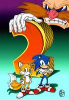 Sonic 2 next gen style. by XAMOEL