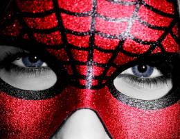 spiderwoman closeup by swestberg