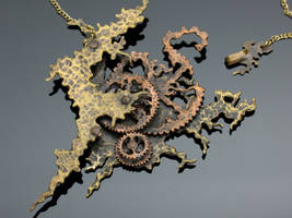 Decay of Time : steampunk art by Amazon-Butterfly