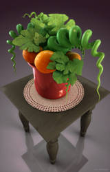 my potted plant by viESc