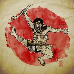 7 samurai by viESc