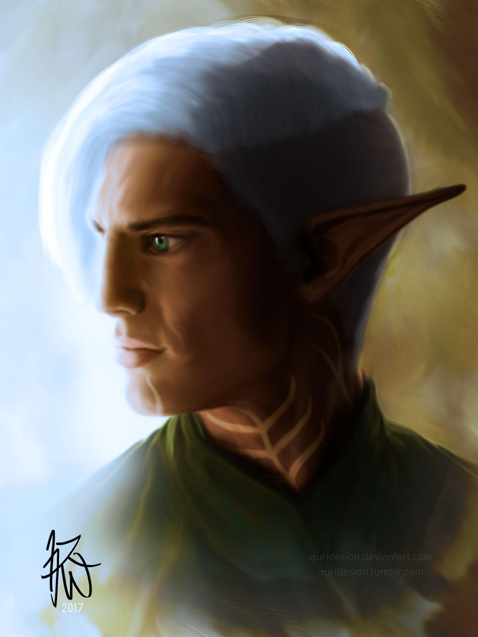 Fenris Profile - Short Undercut by Auridesion