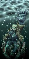 Drowning Again by WeirdoFish