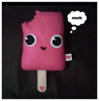 Strawberry Lollipop Plush by riaherod