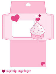 Cupcake Envelope by riaherod