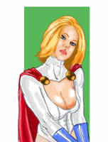 PowerGirl by RichBGuam
