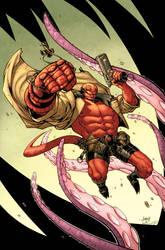 Hellboy by GarryHenderson